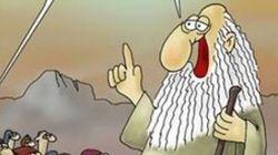 Εξόργισε ο Προφήτης του Αρκά. Τι απαντά ο γνωστός σκιτσογράφος στους επικριτές