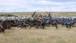 Θέλετε να δείτε πως πολεμούσαν στο Μεσαίωνα; Δείτε την αναπαράσταση μιας μάχης σε