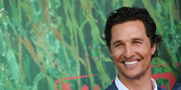 UNIVERSAL CITY, CA - AUGUST 14:  Actor Matthew McConaughey attends the premiere of 'Kubo and the Two Strings' at AMC Universal City Walk on August 14, 2016 in Universal City, California.  (Photo by Jason LaVeris/FilmMagic)
