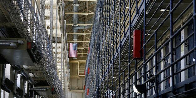 Shown is the east block of death row at San Quentin State Prison Tuesday, Aug. 16, 2016, in San Quentin,...
