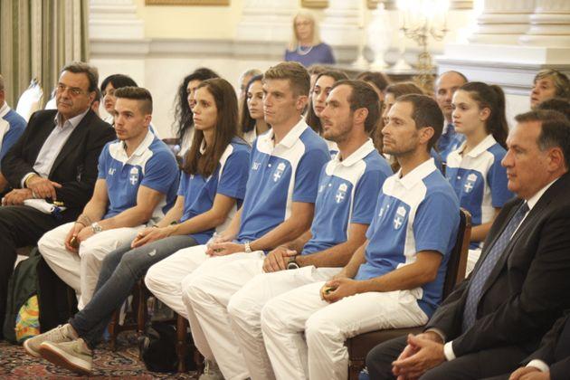 Συνάντηση Παυλόπουλου με Έλληνες Ολυμπιονίκες: «Αποτελείτε παράδειγμα