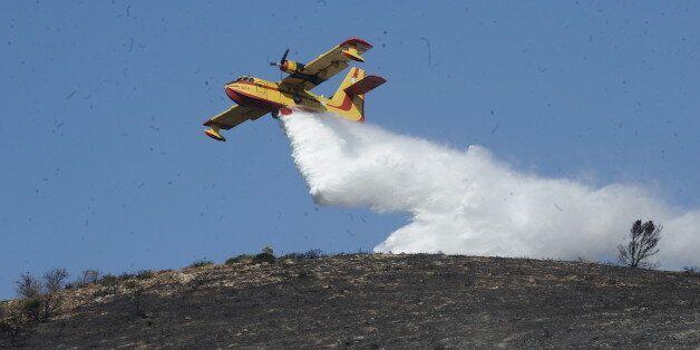Νέες πυρκαγιές στην Εύβοια: Φωτιές σε Κάρυστο και