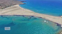 Το νησί που το καλοκαίρι ενώνεται με την στεριά με μια λωρίδα χρυσής