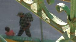 Ισραηλινός αστυνομικός επιτίθεται σε 8χρονη Παλαιστίνια και της παίρνει το ποδήλατο ενώ εκείνη κλαίει