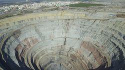 Το εγκαταλελειμμένο ορυχείο διαμαντιών Mir της ανατολικής Σιβηρίας αξίας 17 δισ.