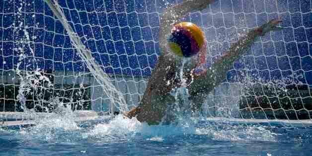 2016 Rio Olympics - Water Polo - Preliminary - Men's Preliminary Round - Group A Greece v Japan - Maria...