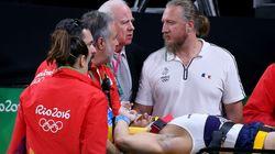 Έσπασε το πόδι του ο Γάλλος αθλητής της γυμναστικής Αΐτ