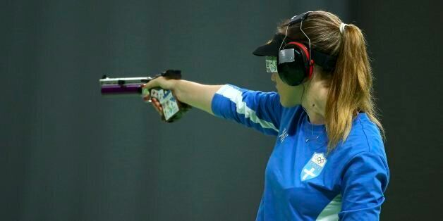 2016 Rio Olympics - Shooting - Final - Women's 10m Air Pistol Finals - Olympic Shooting Centre - Rio...
