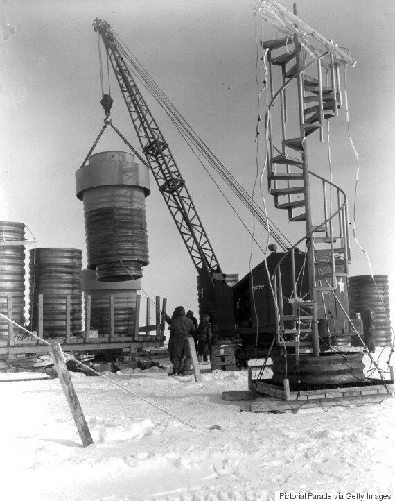 Τοξικά απόβλητα του Ψυχρού Πολέμου «απειλούν» να αναδυθούν από τους πάγους της