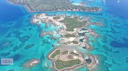 Οι Μπαχάμες της Ελλάδας από ψηλά - Εξωτικές παραλίες, φώκιες και ναυάγια μόλις 2 ώρες από την