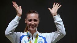 To πρώτο χρυσό μετάλλιο Ρίο για την Ελλάδα. Στην υψηλότερη θέση του βάθρου η Άννα