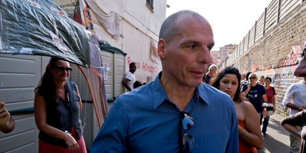 ROME, ITALY JUNE 23: Yaris Varoufakis and his movement DiEM25 and former Minister of Finance greek and...