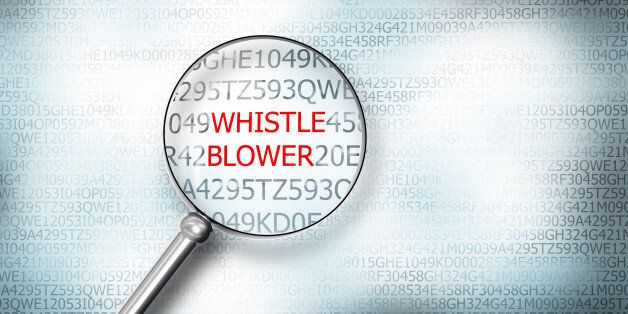 reading word whistle blower screen magnifying glass 3d