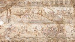 Κύπρος: Αρχαιολογική ανασκαφή στη «νεκρή» ζώνη αποκάλυψε εντυπωσιακό ψηφιδωτό του 4ου μ.Χ με παράσταση