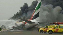Στις φλόγες αεροπλάνο της Emirates στο Ντουμπάι μετά από ανώμαλη