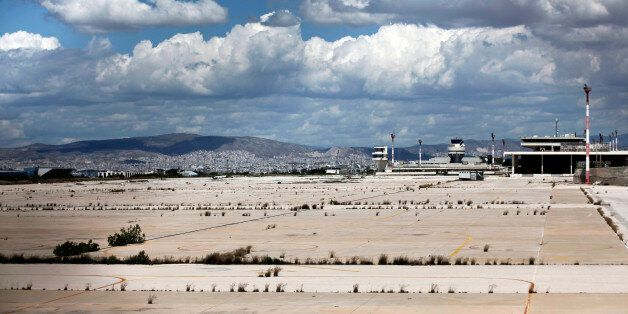 A general view of the old Athens' airport at Hellenikon suburb, southwest of Athens May 5, 2014. Greece's...