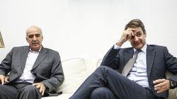 «Όλα καλά» είπε λακωνικά ο Μεϊμαράκης μετά τη συνάντηση με τον Κυριάκο