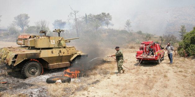 Μεγάλη φωτιά στη Χίο. Στέλνονται