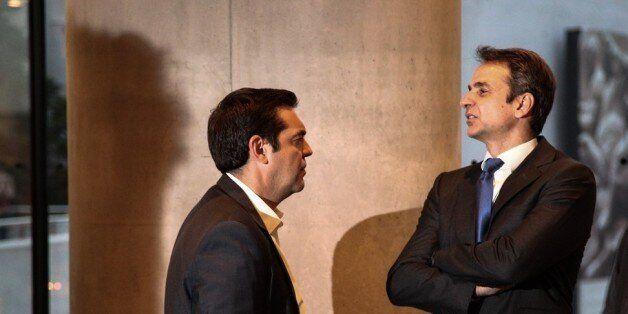 Ο Μητσοτάκης κατηγορεί τον Τσίπρα για λογοκλοπή. Ποιος είπε πρώτος το «νέα Μεταπολίτευση» και το «Ελλάδα...