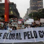 A inevitável relação entre a greve global pelo clima e a guerra urbana no