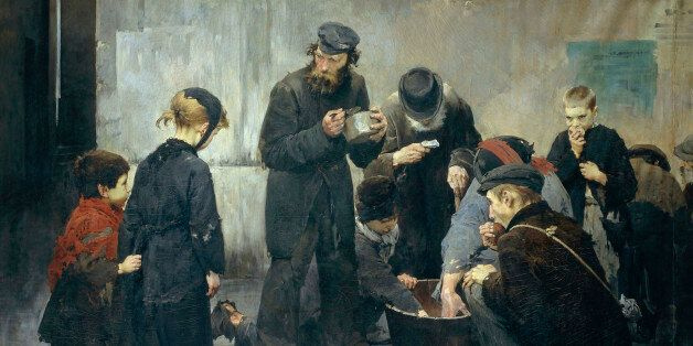 The hungry, by Jean Jules Geoffroy
