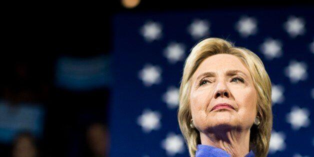 CINCINNATI, OH - Democratic Presumptive Nominee for President former Secretary of State Hillary Clinton,...