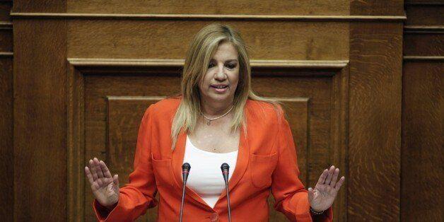 Πυρά Γεννηματά κατά Τσίπρα και Μητσοτάκη για τον εκλογικό νόμο. «Φερετζές η απλή αναλογική του
