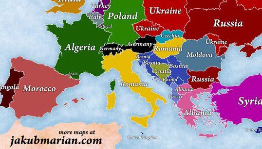4 χάρτες εξηγούν με τον πιο απλό τρόπο τη μετανάστευση στην