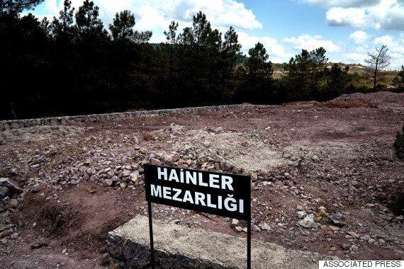 Το «νεκροταφείο προδοτών» της Τουρκίας για τους νεκρούς