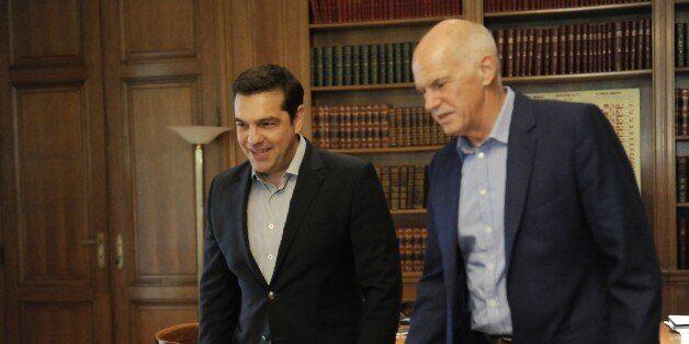 Συνάντηση Τσίπρα με Παπανδρέου: Τα είπαν για την απλή αναλογική με φόντο το τουρκικό