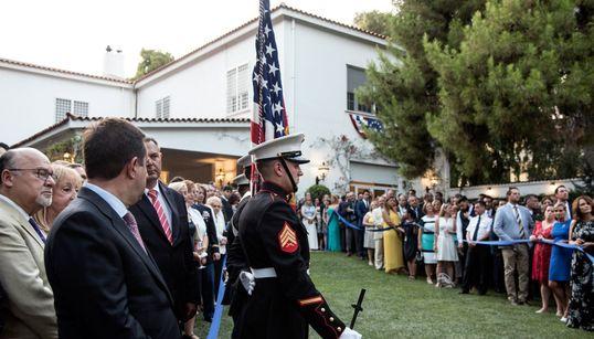 Πήγαμε στη γιορτή της Αμερικάνικης Ανεξαρτησίας: Διπλωματία, φιλία, cupcakes και λίγος