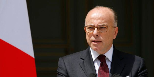 French Interior Minister Bernard Cazeneuve speaks at the ministry in Paris, France, June 22, 2016 after...