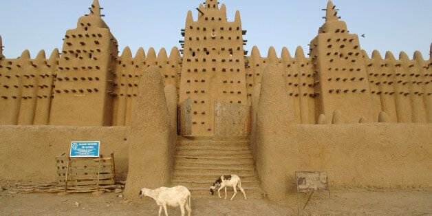 The Great Mosque of Djenne is the largest mud brick building in the world with definite Islamic influences....