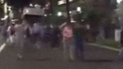 Συγκλονιστικές εικόνες από τη Νίκαια: Πολίτης κατέγραψε το φορτηγό από μπροστά ενώ