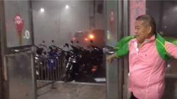 Οι εικόνες από το πέρασμα του τυφώνα Nepartak στη Ταϊβάν κόβουν την