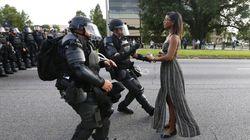 Η συγκλονιστική φωτογραφία από τις διαδηλώσεις στη Λουιζιάνα που κάνει τον γύρο του