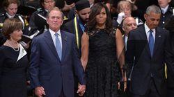 Ο George W. Bush θεώρησε πως ήταν καλή ιδέα να χορέψει στη κηδεία των αστυνομικών του