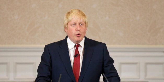 Former London mayor Boris Johnson announces that he will not run for leadership of Britain's ruling Conservative...