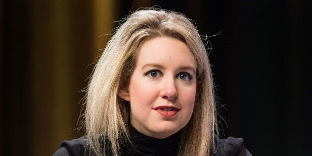 PHILADELPHIA, PA - OCTOBER 05: Founder & CEO of Theranos Elizabeth Holmes attends the Forbes Under 30...