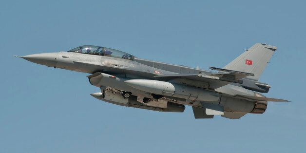 Turkish Air Force F-16 during Exercise Anatolian Eagle in