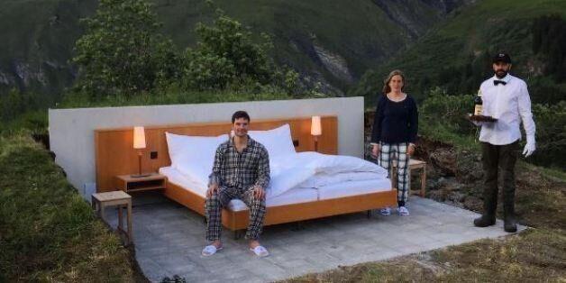Εσείς θα μένατε σε αυτό το «δωμάτιο» ξενοδοχείου που δεν έχει ούτε