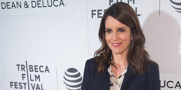 Tina Fey attends Tribeca Talks Storytellers during the 2016 Tribeca Film Festival at BMCC Tribeca Performing...