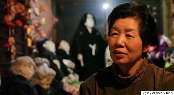 Μακάβριο αλλά «δυνατό». Γιαπωνέζα «αντικατέστησε» τους νεκρούς κατοίκους του έρημου χωριού της, με