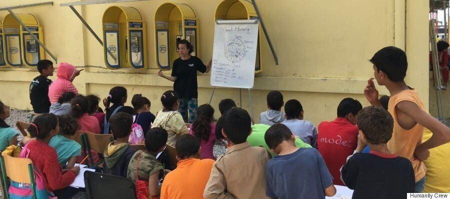 Humanity Crew: Παρέχοντας ψυχολογική υποστήριξη στη γλώσσα των