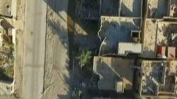 Η βαρβαρότητα του ISIS σε όλο της το μεγαλείο: Χαμηλή πτήση drone στην κατεστραμμένη