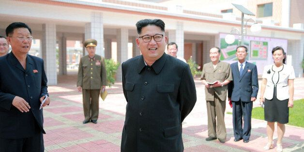 This undated picture released from North Korea's official Korean Central News Agency (KCNA) on July 3,...