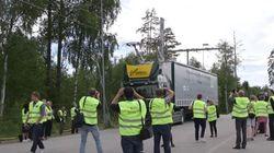 Η Σουηδία κατασκεύασε τον πρώτο ηλεκτρικό δρόμο στον