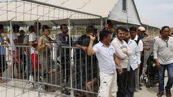 Εν αναμονή εκκένωσης του καταυλισμού προσφύγων στο Ελληνικό. Μετεγκατάσταση σε Θήβα και