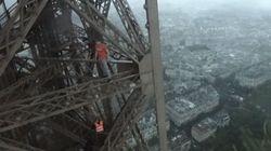 Ρώσοι σκαρφάλωσαν νύχτα στον Πύργο του Άιφελ για να δουν το ξημέρωμα από την κορυφή