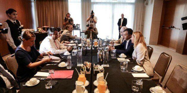 Θεοδωράκης σε Γκάμπριελ: Οι θεσμοί της Ευρώπης πρέπει να καταπολεμήσουν την ανεργία των